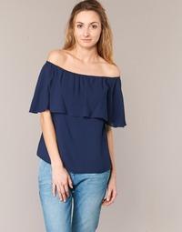 Textil Ženy Halenky / Blůzy Betty London GIVATE Tmavě modrá