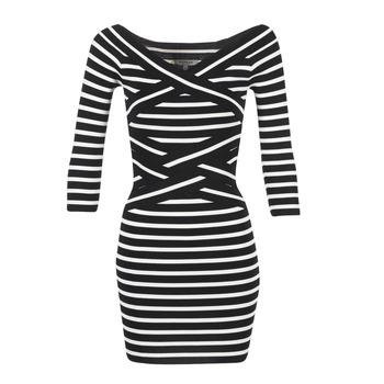 Morgan Krátké šaty RBEST - Černá