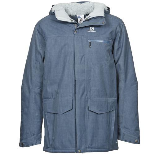 Kabáty Salomon SKYLINE Modrá 350x350