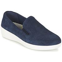 Boty Ženy Street boty FitFlop SUPERSKATE (PERF) Tmavě modrá