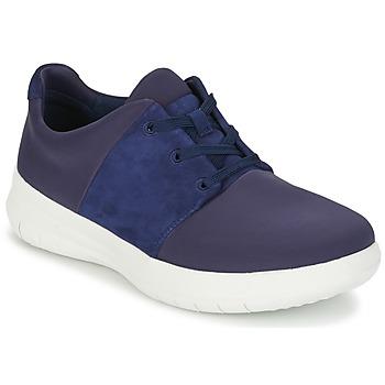 Boty Ženy Nízké tenisky FitFlop SPORTYPOP X SNEAKER Tmavě modrá