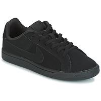 Boty Děti Nízké tenisky Nike COURT ROYALE GRADE SCHOOL Černá