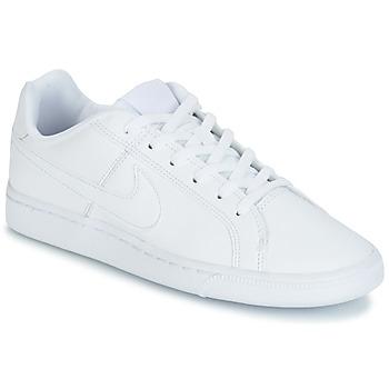Nike Tenisky Dětské COURT ROYALE GRADE SCHOOL - Bílá