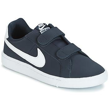 Nike Tenisky Dětské COURT ROYALE PRESCHOOL - Modrá