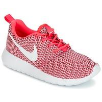 Boty Dívčí Nízké tenisky Nike ROSHE ONE GRADE SCHOOL Růžová / Bílá