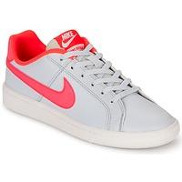 Boty Dívčí Nízké tenisky Nike COURT ROYALE GRADE SCHOOL Šedá / Růžová