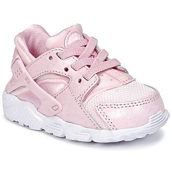 Boty Dívčí Nízké tenisky Nike HUARACHE RUN SE TODDLER Růžová