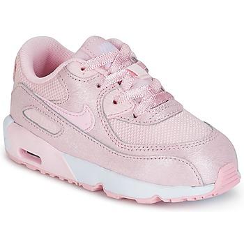 Nike Tenisky Dětské AIR MAX 90 MESH SE TODDLER - Růžová