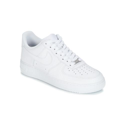Nike AIR FORCE 1 07 Bílá - Doručení zdarma se Spartoo.cz ! - Boty ... 2cf9ac5dd7e