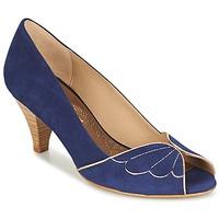 Boty Ženy Lodičky Bocage DAPHNE Tmavě modrá