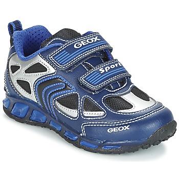 Boty Chlapecké Nízké tenisky Geox J SHUTTLE B. A Tmavě modrá / Modrá