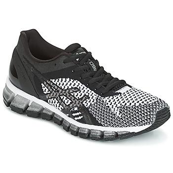 Boty Ženy Běžecké / Krosové boty Asics GEL-QUANTUM 360 KNIT Černá / Bílá
