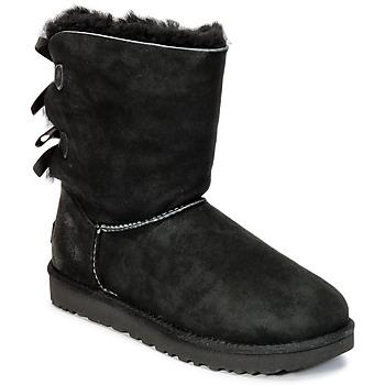 Boty Ženy Kotníkové boty UGG BAILEY BOW II Černá
