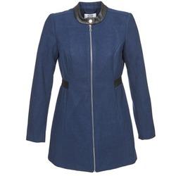 Textil Ženy Kabáty Vero Moda CAPELLA Tmavě modrá
