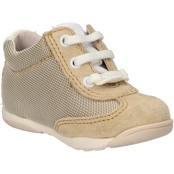 Boty Chlapecké Módní tenisky Balducci sneakers beige tessuto camoscio AF694 Beige
