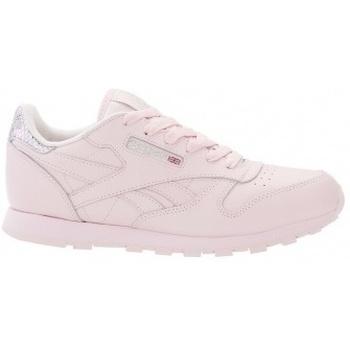 Boty Děti Multifunkční sportovní obuv Reebok Sport Classic Leather Metallic růžová