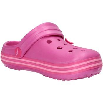 Boty Chlapecké Sandály Everlast sandali rosa gomma AF849 Rosa