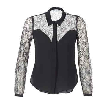 Textil Ženy Košile / Halenky Morgan RESTY Černá
