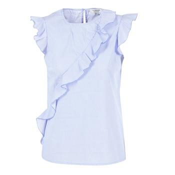 Textil Ženy Halenky / Blůzy Morgan MARFIZ Modrá / Bílá
