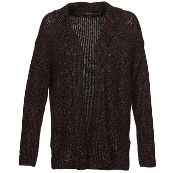 Textil Ženy Svetry / Svetry se zapínáním Kookaï BECCA Černá