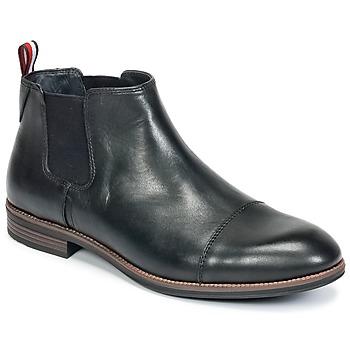 Boty Muži Kotníkové boty Tommy Hilfiger TOMMY COLTON 11A Černá