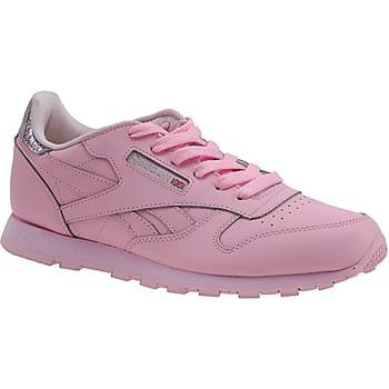 Boty Děti Módní tenisky Reebok Sport Classic Leather Metallic BD5898 Pink