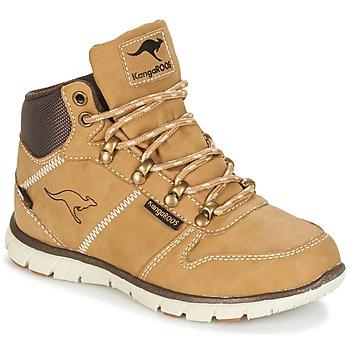 Boty Chlapecké Kotníkové boty Kangaroos BLUERUN 2098 béžová