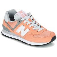 Boty Ženy Nízké tenisky New Balance WL574 Oranžová