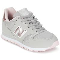 Boty Dívčí Nízké tenisky New Balance KJ374 Šedá / Růžová