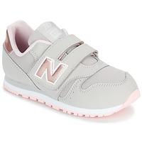 Boty Dívčí Nízké tenisky New Balance KV373 Šedá / Růžová