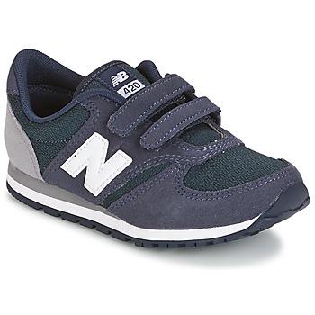 Boty Děti Nízké tenisky New Balance KE421 Tmavě modrá / Šedá