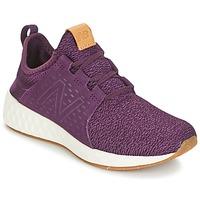 Boty Ženy Běžecké / Krosové boty New Balance CRUZ Bordó