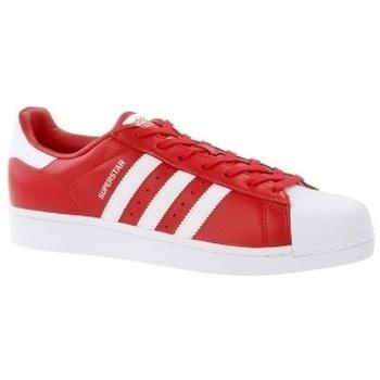 adidas Tenisky Superstar - Červená
