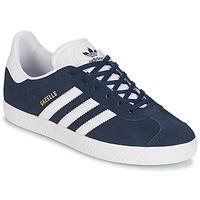 Boty Chlapecké Nízké tenisky adidas Originals GAZELLE J Tmavě modrá
