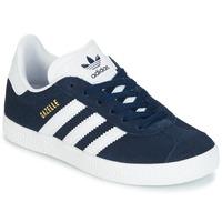 Boty Chlapecké Nízké tenisky adidas Originals Gazelle C Tmavě modrá