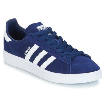 Boty Chlapecké Nízké tenisky adidas Originals CAMPUS J Tmavě modrá