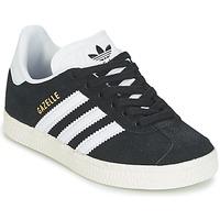 Boty Děti Nízké tenisky adidas Originals GAZELLE C Černá