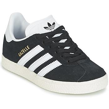 Boty Chlapecké Nízké tenisky adidas Originals GAZELLE C Černá