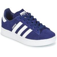 Boty Chlapecké Nízké tenisky adidas Originals CAMPUS C Tmavě modrá