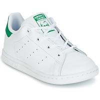Boty Děti Nízké tenisky adidas Originals STAN SMITH I Bílá / Zelená