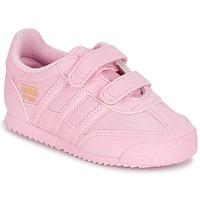 Boty Dívčí Nízké tenisky adidas Originals DRAGON OG CF C Růžová