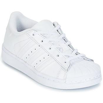 Boty Děti Nízké tenisky adidas Originals SUPERTSAR Bílá