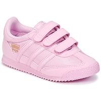 Boty Dívčí Nízké tenisky adidas Originals DRAGON OG CF I Růžová