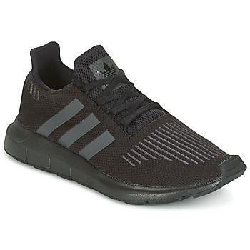 Boty Děti Nízké tenisky adidas Originals SWIFT RUN J Černá