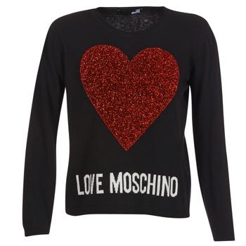 Textil Ženy Svetry Love Moschino WS89G01X0683 Černá