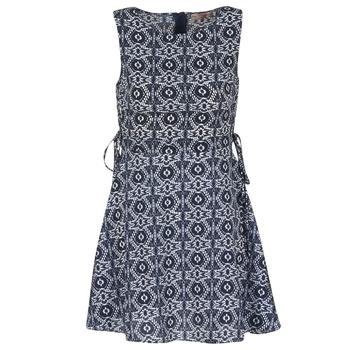 Textil Ženy Krátké šaty Moony Mood GIRA Tmavě modrá
