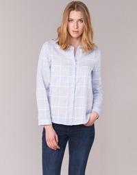 Textil Ženy Košile / Halenky Casual Attitude GAMOU Modrá / Bílá