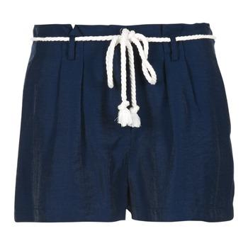 Textil Ženy Kraťasy / Bermudy Casual Attitude IGRETTE Tmavě modrá