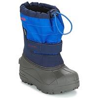 Boty Děti Zimní boty Columbia CHILDRENS POWDERBUG PLUS II Tmavě modrá
