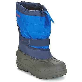 Boty Děti Zimní boty Columbia YOUTH POWDERBUG™ PLUS II Tmavě modrá